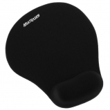 Mouse Pad Gel Preto Multilaser