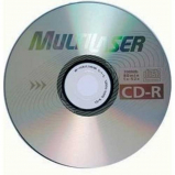 CD-R Multilaser - Vel. 52x (700mb)