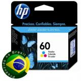 Cartucho de Tinta HP 60 Color CC643WB 6,5ml